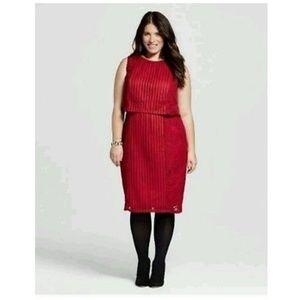 Dresses & Skirts - SPENSER JEREMY Lace Mesh Overlay dress